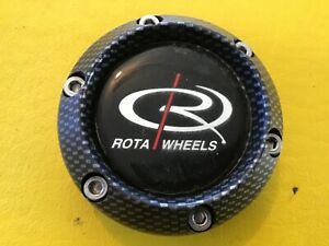Rota Wheels Carbon Fiber Center Cap 2 11 16 Od