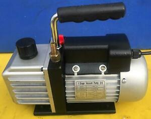 Hfs Tw 1a 2 Cfm Single Stage Rotary Vane Vacuum Pump Free Shipping Watch Video