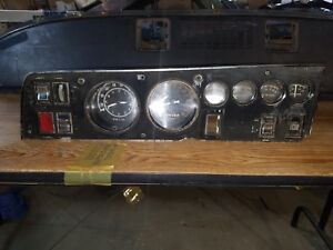 1968 Dodge Charger Rallye Cluster Tic Toc Tach Coronet Plymouth Gtx B body 68 69