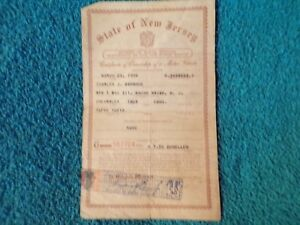 1948 Chevrolet Convertible Historical Paperwork Document Hot Rat Rod Rare