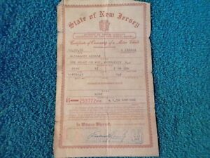 1947 Plymouth Coupe Historical Paperwork Document Hot Rat Rod Rare Barn