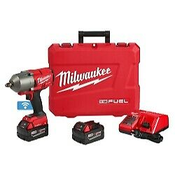 Milwaukee Electric Tools 2863 22 M18 Fuel One Key 1 2 High Torque Impact Wrench