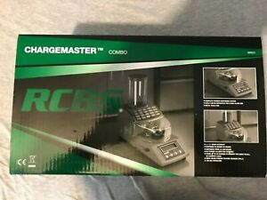 RCBS Combo 110V-AC Chargemaster Powder Scale Dispenser Combination Speed Ribs