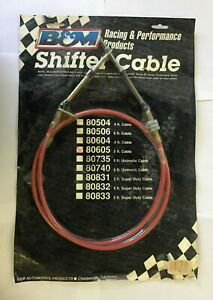 B M 5 Shifter Cable Nos 80605