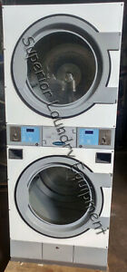 Wascomat Td30x30 Stack Dryer 30lb Coin 120v Gas Reconditioned