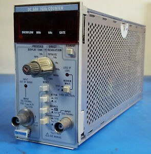 Tektronix Dc508 Option 1 And 7 1ghz Frequency Counter Plug In For Tm500 Frames