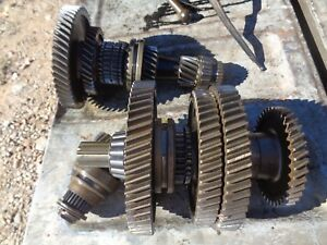 Ford Tractor 8n Transmission Top Bottom Shafts W gears Reverse Idler