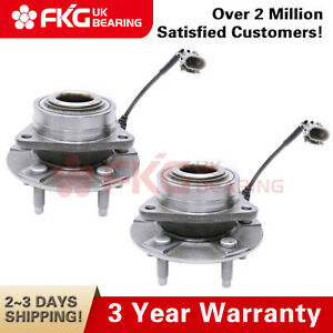 Pair Front Wheel Hub Bearings For Chevrolet Equinox Saturn Vue With Abs 513189