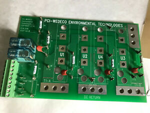 Pci Wedeco 2218 gl5 Pcb Control Board For Uv Disinfection System 2218 gls ac