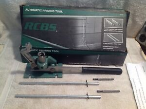RCBS Primer Tool 09460 Universal Auto Priming W FREE Shipping And SHELL HOLDER