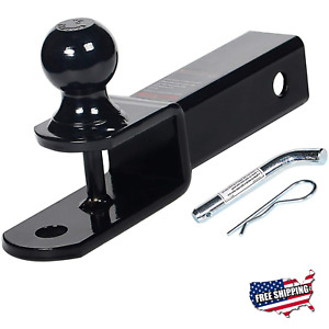 Atv Hitch Adapter 3 Way 2 Ball Mount For Trailer Utv Accessories
