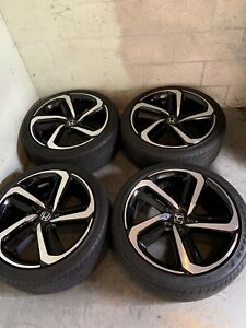 2018 Honda Accord Sport Oem 19 Factory Wheels And Tires Rims Great Shape