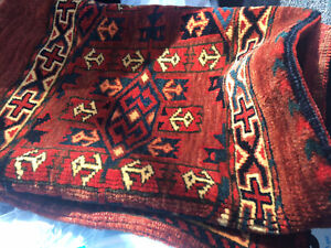 Antique Turkoman Yomut Yomud Tribal Torba Chuval Mint Collector Piece