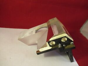 Reichert Polyvar Head Prism Assembly Optics Microscope Part As Pictured