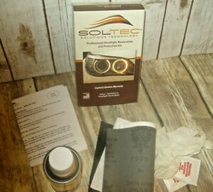 Soltec Solutions Tech Pro Headlight Restoration Protection Kit 1 Case 12 Kit