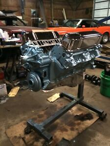 Pontiac 455 Engine Rebuilt Balanced Performance 1971 Free Shipping