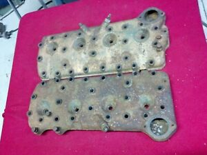 1949 Ford Flathead Cylinder Flat Head 8ba Pair V8 24 Bolt Will Fit Other Years