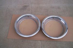 Mopar Rally Wheel Beauty Rings 15 X 7 X 3 Cuda Challenger