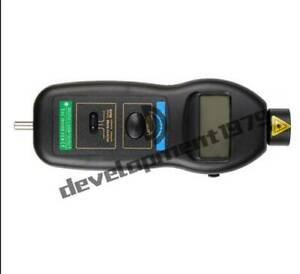 New Dt2236c Digital Laser Rpm Tachometer Contact Measurement Tool