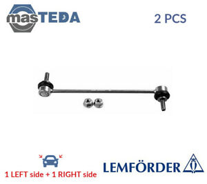 2x Lemfrder Front Anti Roll Bar Stabiliser Pair 36704 01 P New Oe Replacement