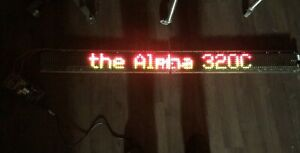 54 X 5 5 Led Programmable Scrolling Message Sign Display Board Alpha 320c