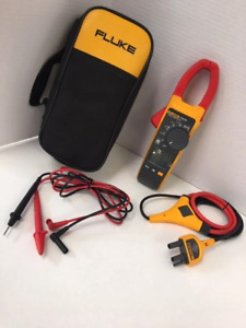 Fluke 376 Fc True rms Ac dc Clamp Meter With Iflex I2500 18 Teste