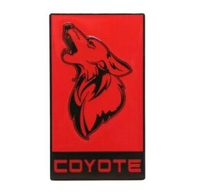 Gt350 Coyote Badge Ford Mustang Cobra Style Emblem All Metal Epoxy Coated