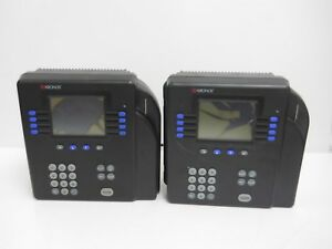 Lot Of 2 Kronos System 4500 Digital Time Clock Terminal 8602800 501 for Parts