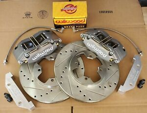 Datsun 510 280zx New Front Disc Brake 6 Piston Wilwood Complete Kit 79 83