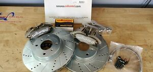 Datsun S130 280zx New Rear Disc Brake 4 Piston Wilwood Complete Kit 82 83