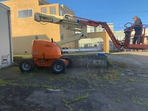 Aerial Telescopic Boom Lift Jlg 450aj 4x4 45 Articulated Diesel J