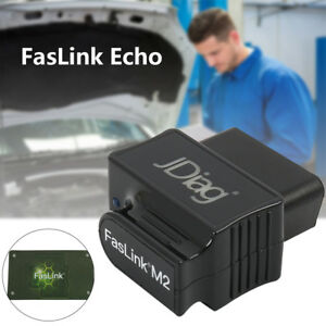 Jdiag Faslink M2 Bluetooth Professional Obdii Obd2 Diagnostic Scan Tool New
