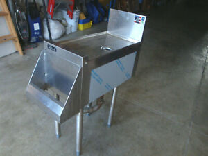Perlick Commercial Stainless Steel Sink