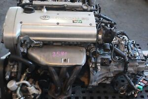 Jdm Toyota Corolla 4age Engine 20 Valve 5 Speed Transmission 4age Silver Top