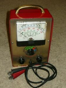 Vintage Marquette Corp Model 41 188 Dwell Tach Tester Tested Fully Working