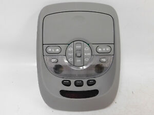 2003 2004 Kia Sedona Ex Mini Van 5 door Gray Over Head Console mint Oem