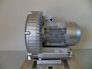 Regenerative Blower 3 4hp 150cfm 116 h2o Pres 220 480 3ph Goorui Ghbh 003 34 1r5