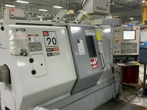 Sl20t Haas vector Dual drive Cnc Turning Center 28738
