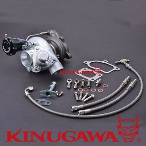 Kinugawa Turbo Td04l 19t 6cm T25 Flange W Bov Billet Adjustable Actuator