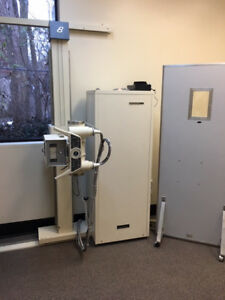 X ray Unit And Cr Scanner Bennett Scanx 14 Bucky Cassettes