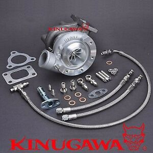 Kinugawa Billet Turbocharger Td04hl 20t W 8 5cm T25 External 1 6 2l 250 320hp