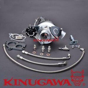 Kinugawa Billet Turbocharger Td04l 20t W 6cm T25 Housing 1 3 2l 150 250hp