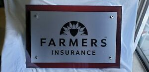Used Farmers Insurance Office Sign