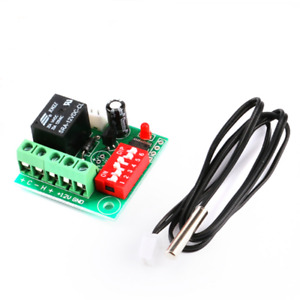 Digital Temperature Control Switch Thermostat Adjustable 12v Cooling Heating