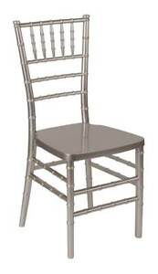 Stacking Chiavari Chair In Pewter id 3714317