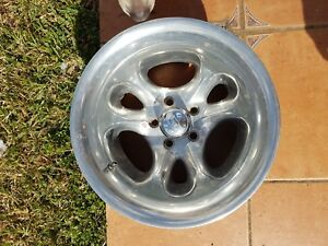 15x10 American Eagle 1179 Series Aluminum Wheel 5 4 5 Bc Old School 1 Used