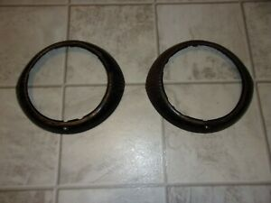 1946 1947 1948 Chevrolet Fleetline Fleetmaster Styleline Headlight Doors Rings