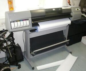 Hp Designjet 5500 42 color Plotter q1251a inkjet Printer blueprint poster signs
