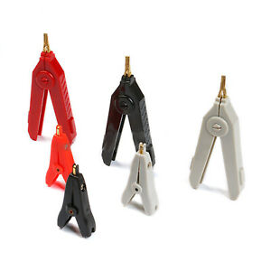 Crocodile Clips Low Voltage Lead wire Test Clamps Alligator Clip Smd Lcr