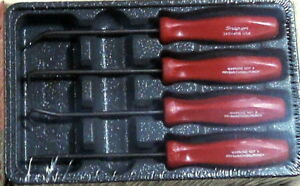 New For 2018 Snap On Mini 4 Piece Pick Set Red Asa204br